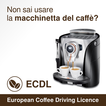 Support the ECDL: European Coffee Driving License.